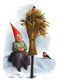 Tomte with Sheaf